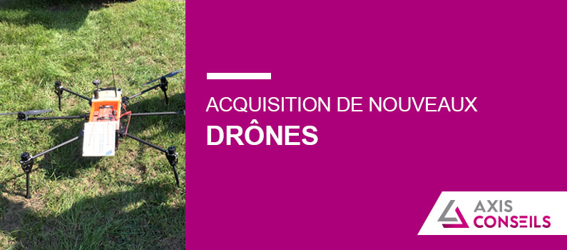 actualite acquisition de drones